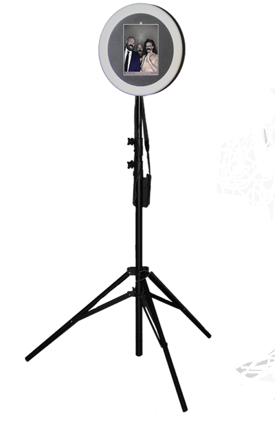 HootBooth ILLUMIN8 ROVR GIF Booth on stand (without wheels)