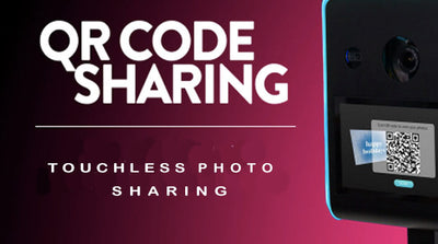 Touchless QR Code Photo Sharing