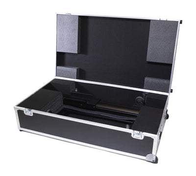 Rolling Travel Case For the Display & Rolling Stand - HootBooth LumaVu Digital Signage Solution