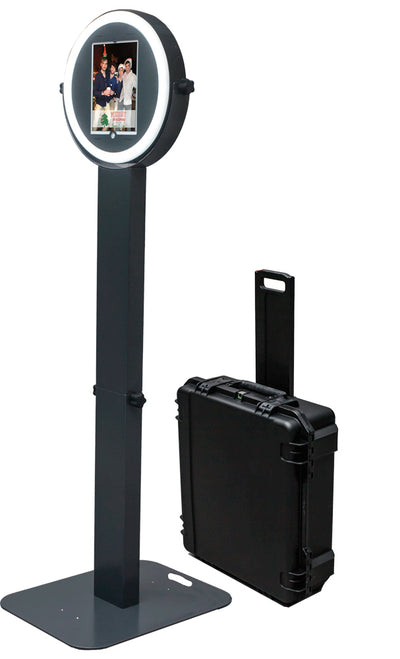 Travel Case for HootBooth® ILLUMIN8+ iPad Photo Booth