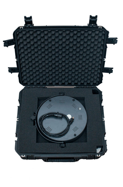 Padded interior case for the HootBooth ILLUMIN8+ Photo Booth