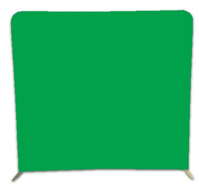 HootBooth Photo Booth Photo Booth Backdrops Green Screen / Optic White Wrinkle Free 8' x 8' Photo Booth Backdrop