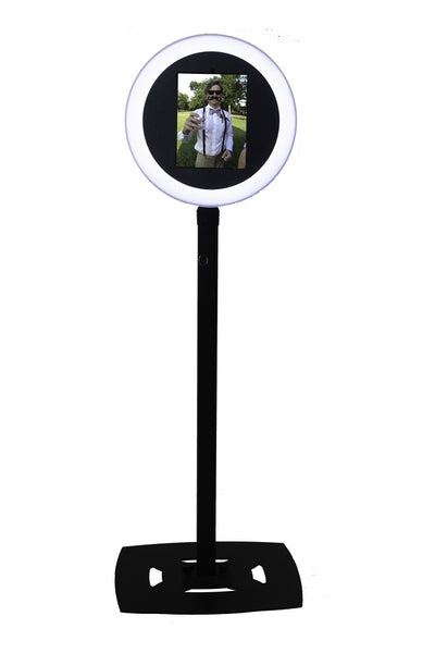 HootBooth ILLUMIN8 Photo Booth With LED Ring Light