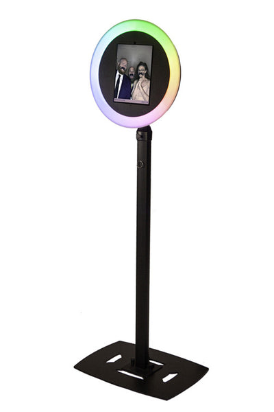 HootBooth ILLUMIN8 Photo Booth With Chasing LED Ring Light