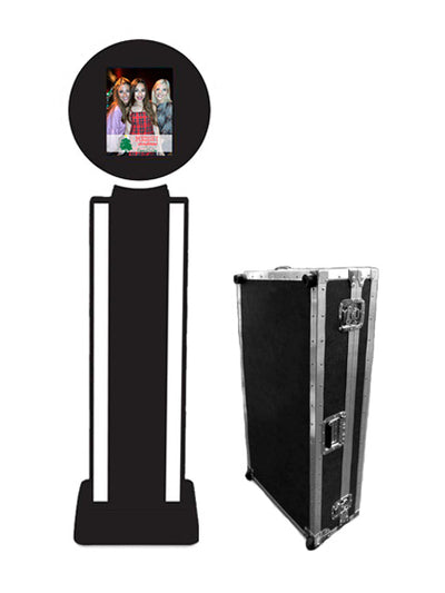 "HootBooth® ILLUMIN8 MAX 12.9"" iPad Photo Booth With Wireless Printing Bundle"