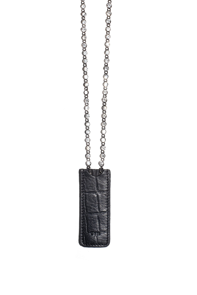 BLINK LEATHER NECKLACE