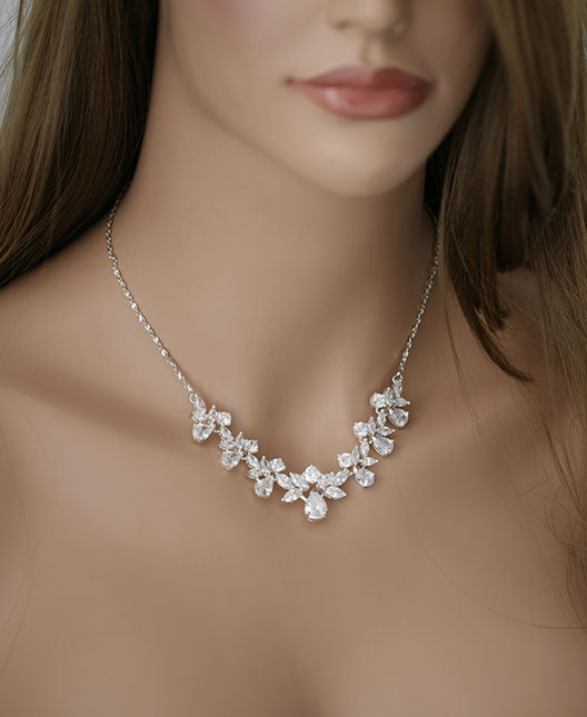 CLARA - Cubic Zirconia Necklace