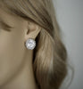 HELEN - cz Stud earrings