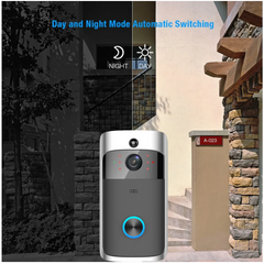Day and Night motion detection with our wireless video doorbell