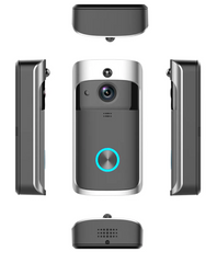 This video doorbell will fit next to any outside door