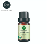 organic stress relief blended essential oil
