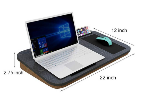 A comfortable laptop lap desk