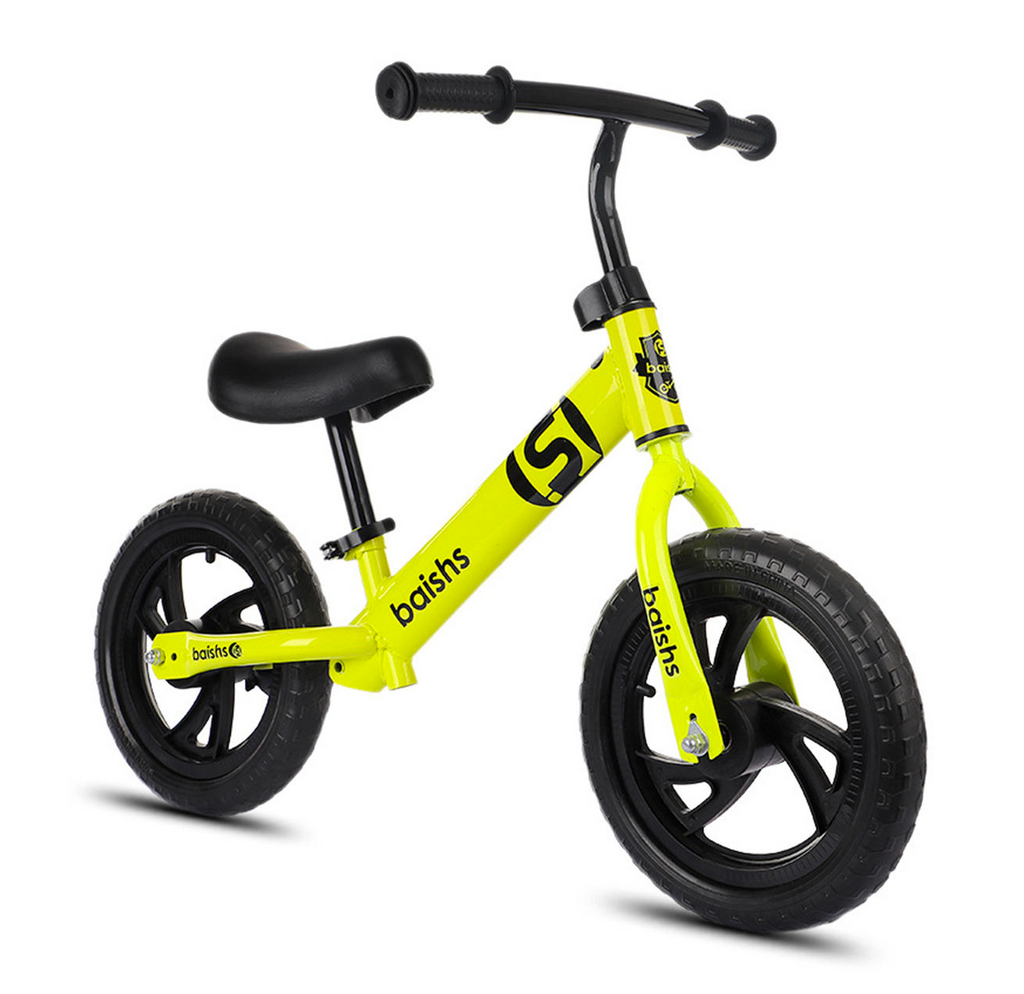 "Baishs™ 12"" Inch Kids Best Balance Bike For Toddlers Without Pedals"