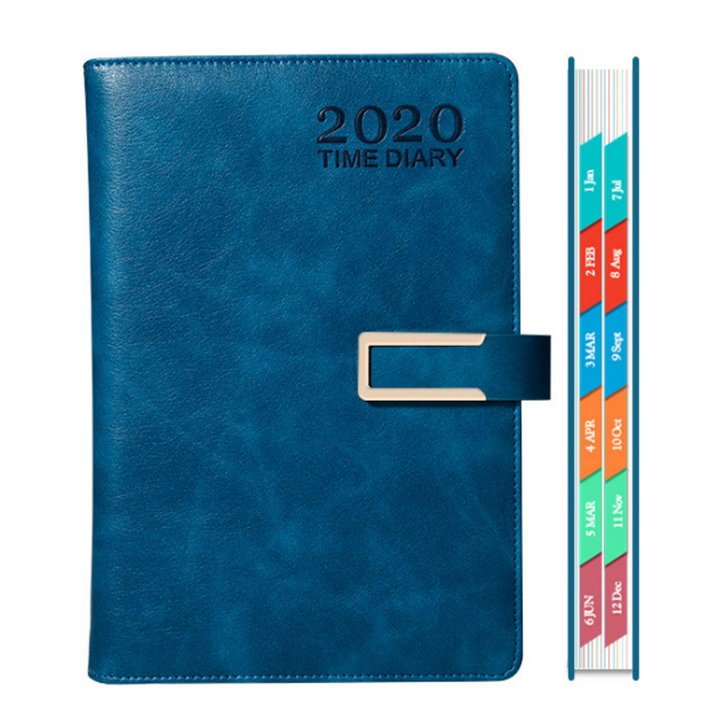 Productivity Daily Schedule Planner 365 Day 2020 Notebook Calendar Time Diary