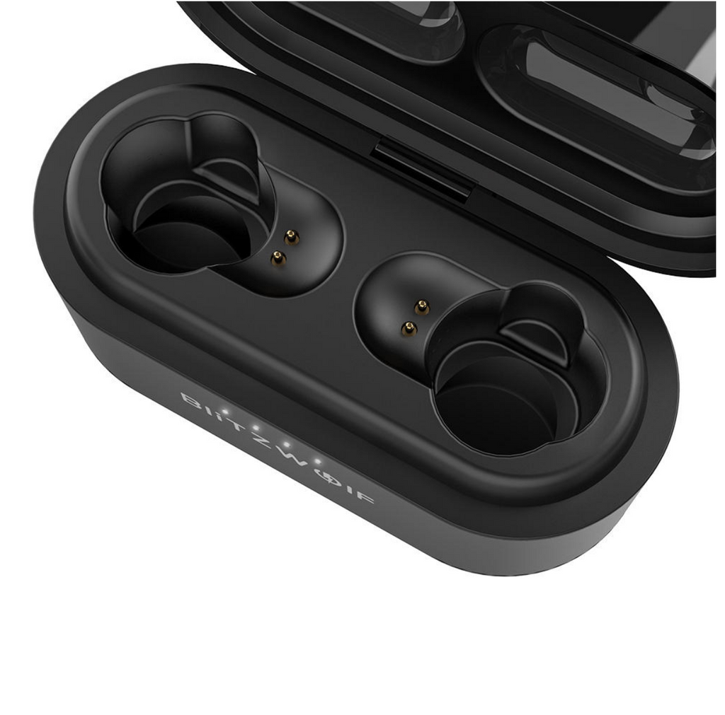 Blitzwolf™ TWS BT 5.0 Dual Dynamic Driver Heavy Bass Bilateral Calls Earbuds with Charging Box