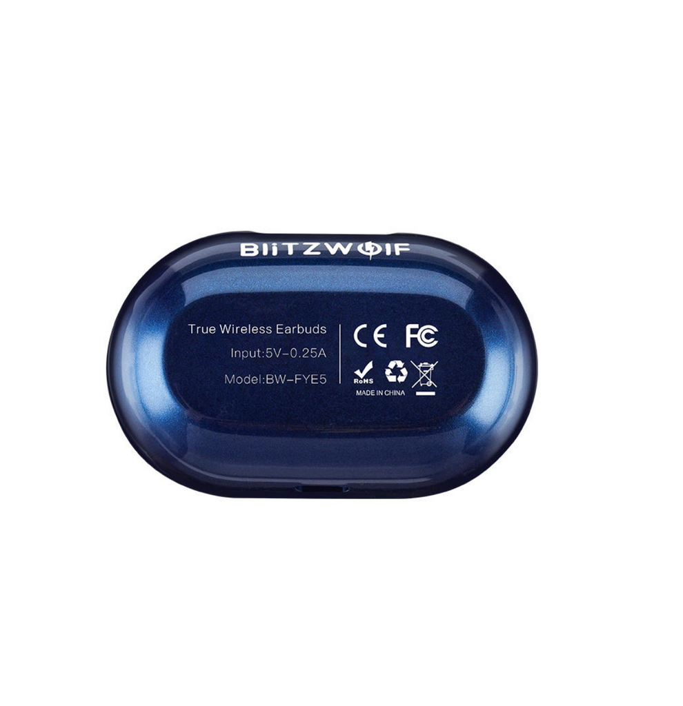 Blitzwolf™ Mini TWS Bluetooth 5.0 Earbuds Noise Cancelling Waterproof Mic Comfort