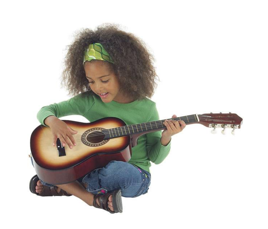 Kids Starter Acoustic Guitar Easy 6 String 21 Inch Basswood 5 Colors