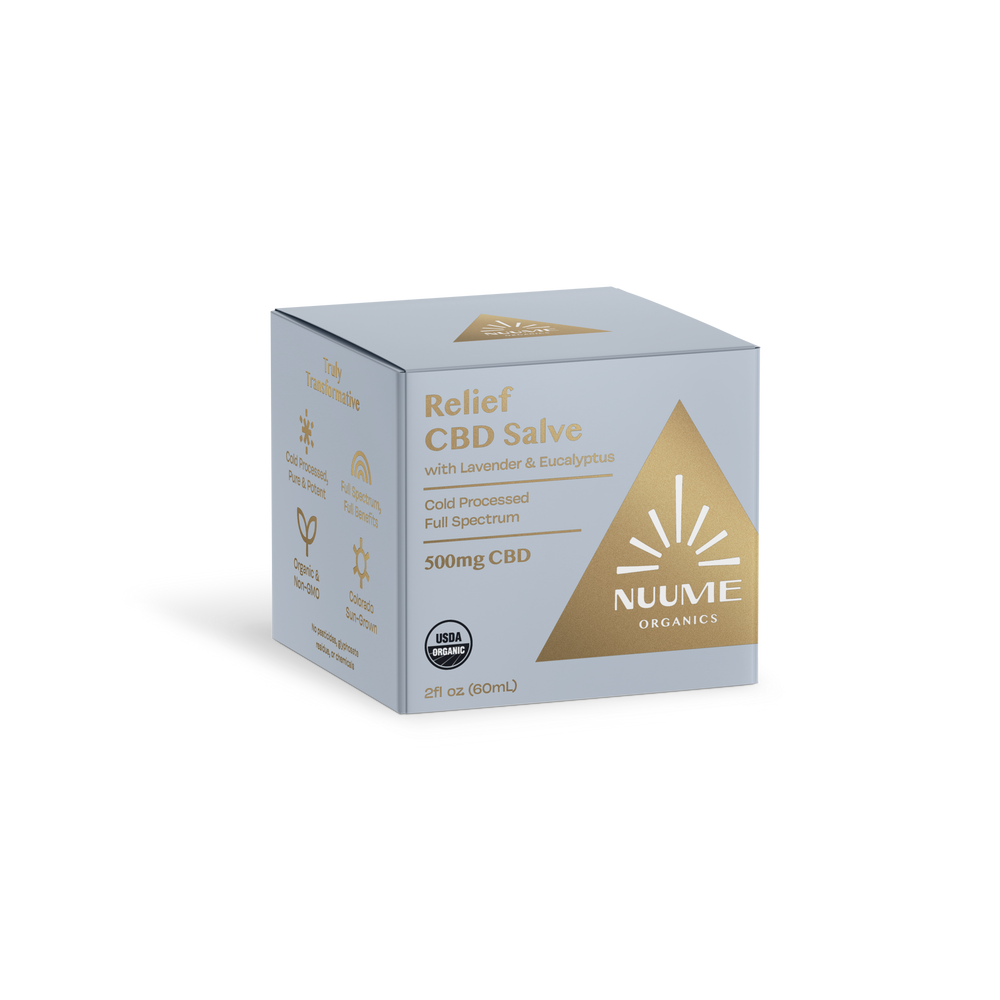 Organic CBD salve by NuuMe Organics - Full Spectrum Organic CBD cream