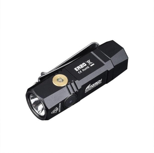 Fitorch ER20 1000 Lumens Rechargeable EDC Flashlight - Choice of Colors Flashlight FiTorch Black