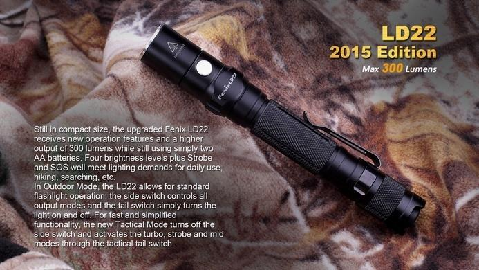 Fenix LD22 LED Flashlight Flashlight Fenix