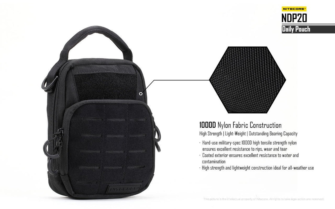 Nitecore NDP20 Tactical Backpack