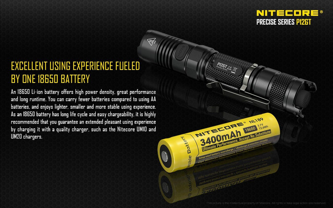 Nitecore P12GT LED Flashlight