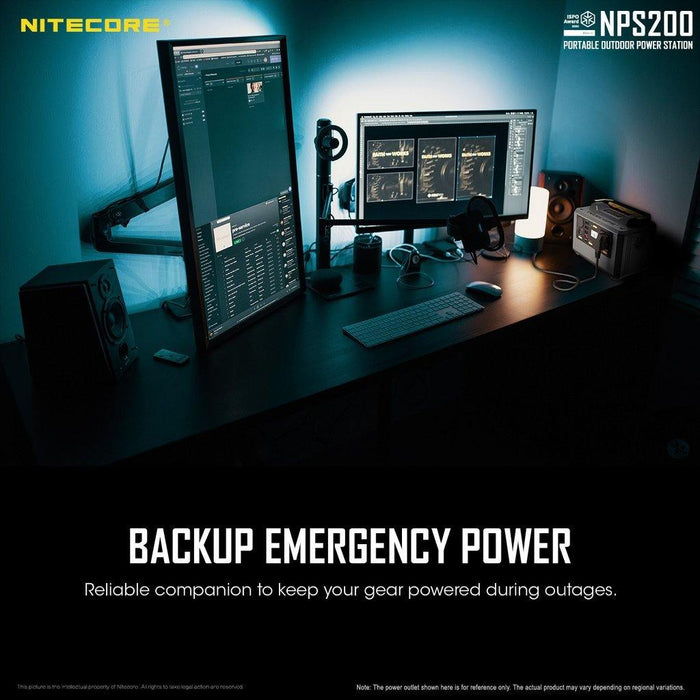Nitecore NPS200 54.6AH Portable Power Station