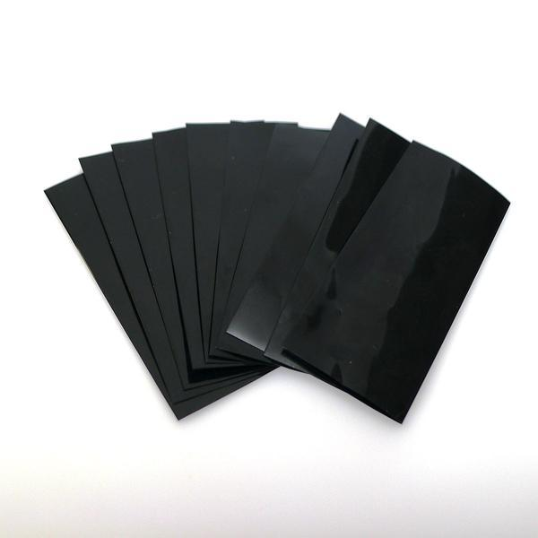 18650 PVC Heat Shrink Battery Wraps - 10pcs - Black