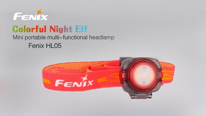 Fenix HL05 Lightweight LED Headlamp Headlamp Fenix