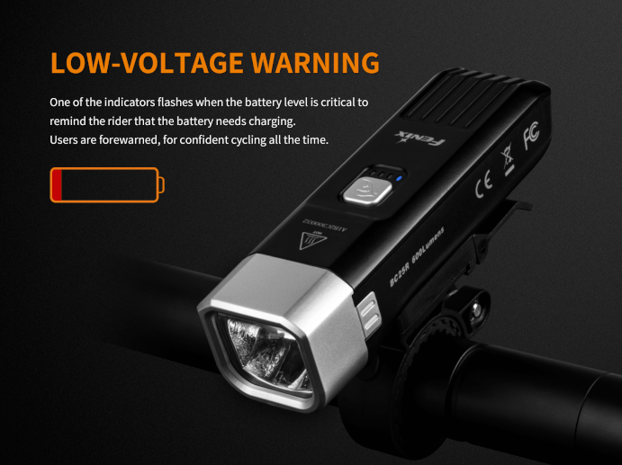 Fenix BC25R LED Bike Light