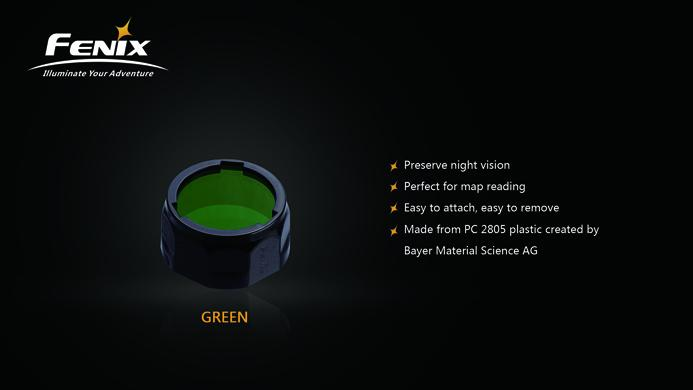 Fenix AOF-S+ Green Filter