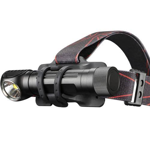Klarus HA2C 3200 Lumens, Angle Head Flashlight & Headlamp