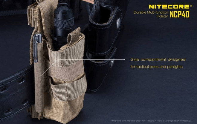 Nitecore NCP40 Holster for Nitecore LED Flashlights