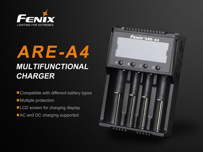 Fenix Are-A4 Smart Battery Charger