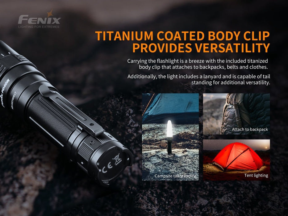 Fenix PD40R V2.0 LED Flashlight - 3000 Lumens Flashlight Fenix