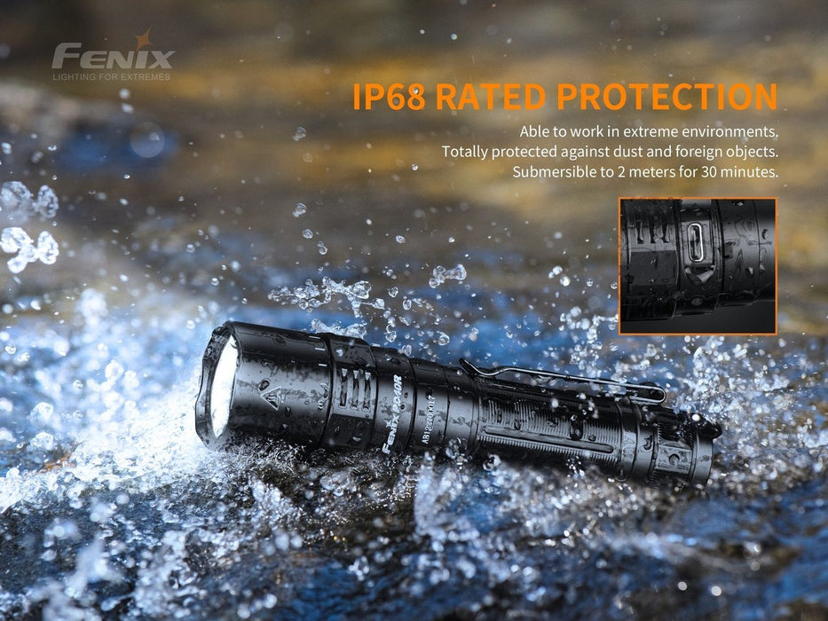 Fenix PD40R V2.0 LED Flashlight - 3000 Lumens