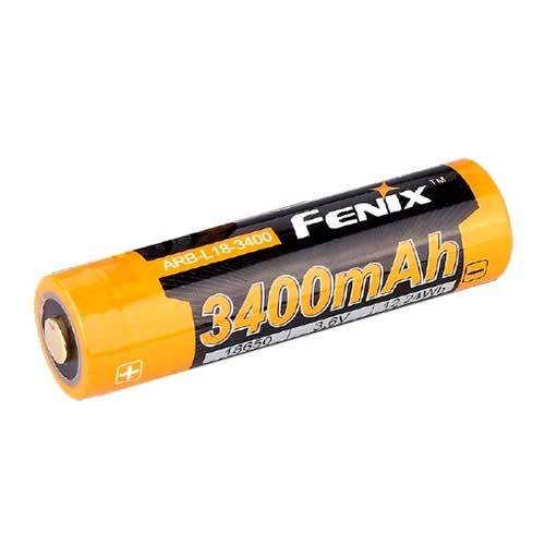 Fenix ARB-L18 3400mAh 18650 Button Top Li-on Battery