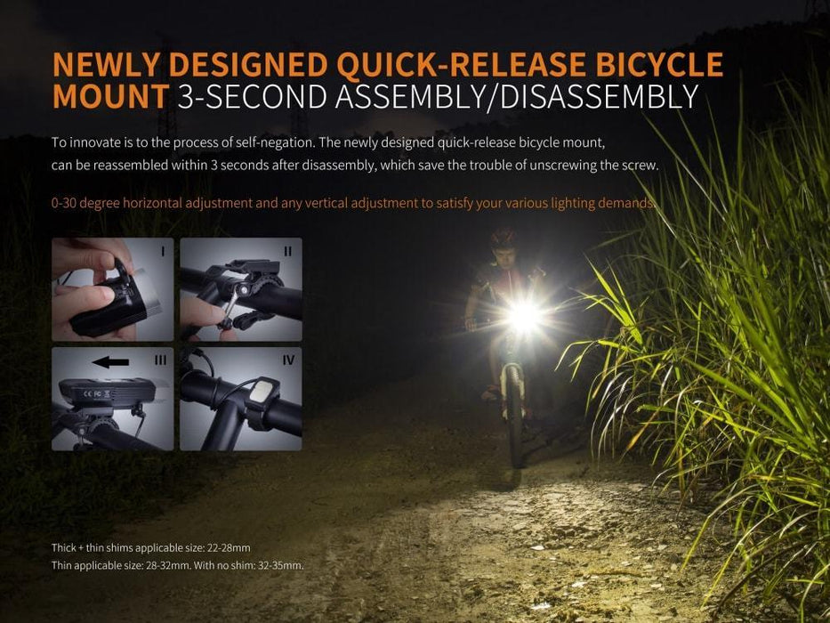 Fenix BC30R 2017 Edition LED Bike Light