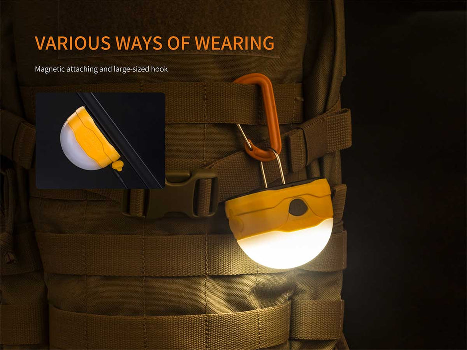 Fenix CL20R LED Rechargeable Camping Lantern