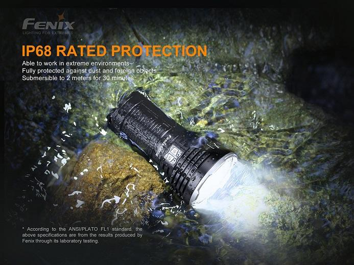 Fenix LR50R 12000 Lumens Multifunctional Search Light Flashlight Fenix