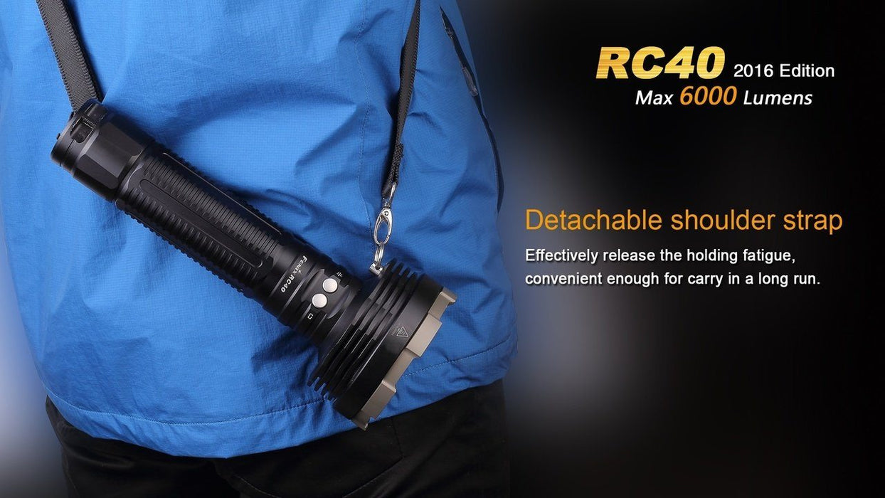 Fenix RC40 Rechargeable LED Flashlight