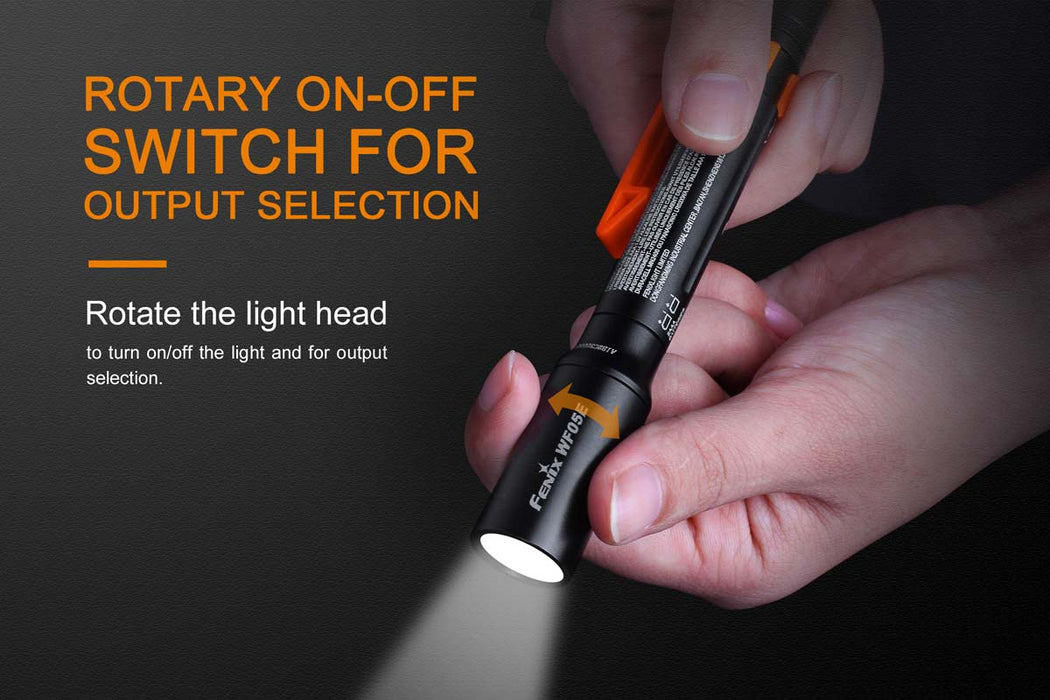 Fenix WF05E Intrinsically Safe LED Flashlight Flashlight Fenix