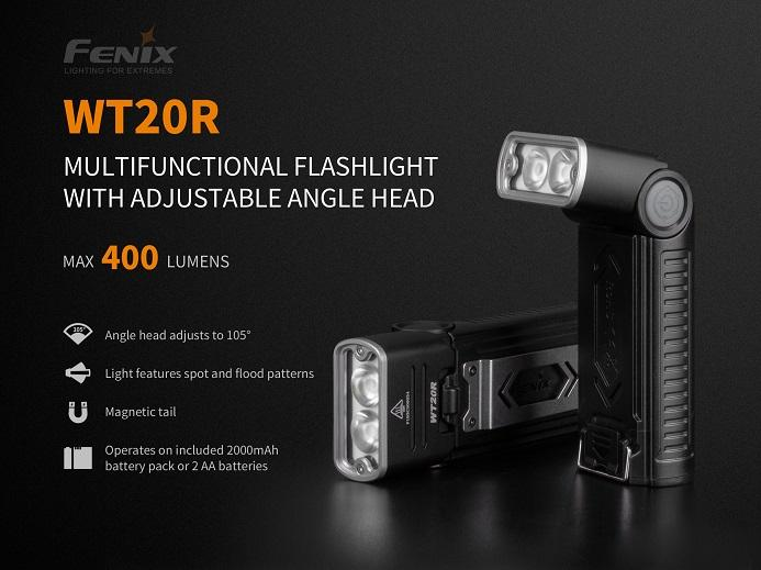 Fenix WT20R Multifunctional Work LED Flashlight Flashlight Fenix