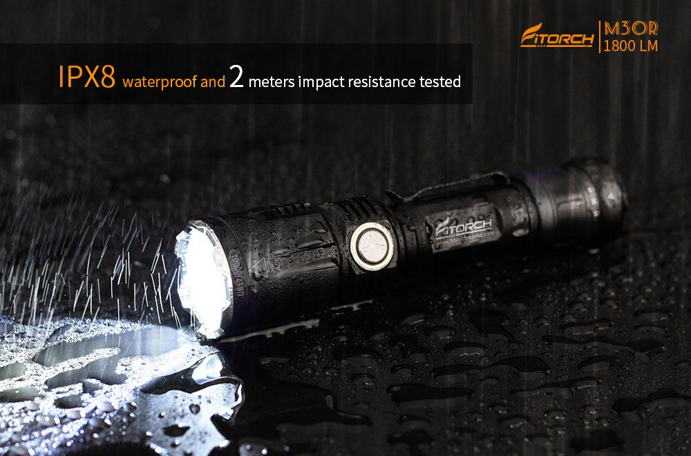 FiTorch M30R Tactical LED Flashlight Flashlight FiTorch