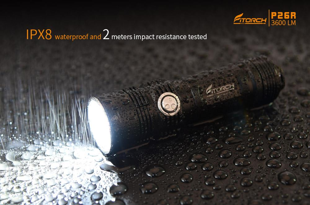 FiTorch P26R LED  Flashlight 3600 Lumens