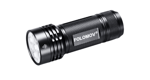 Folomov 26650s EDC Flashlight - 2000 Lumens
