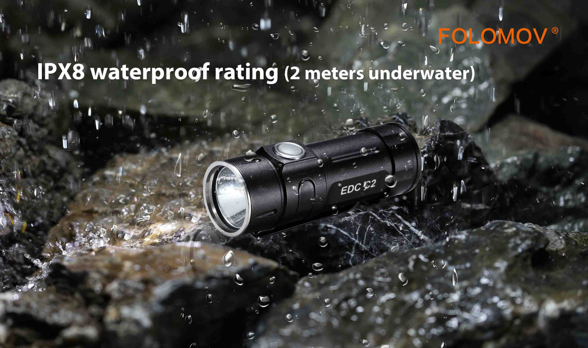 Folomov EDC C2 Mini Flashlight
