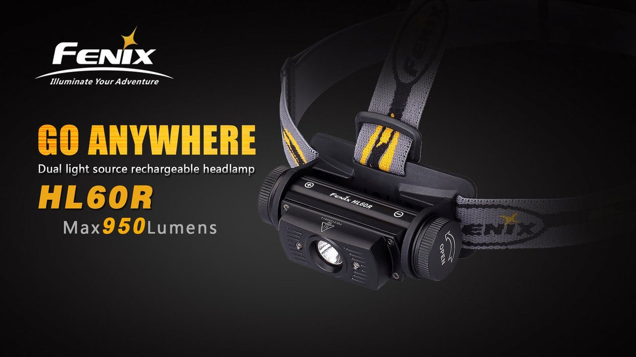 Fenix HL60R - Rechargeable LED Headlamp Flashlight