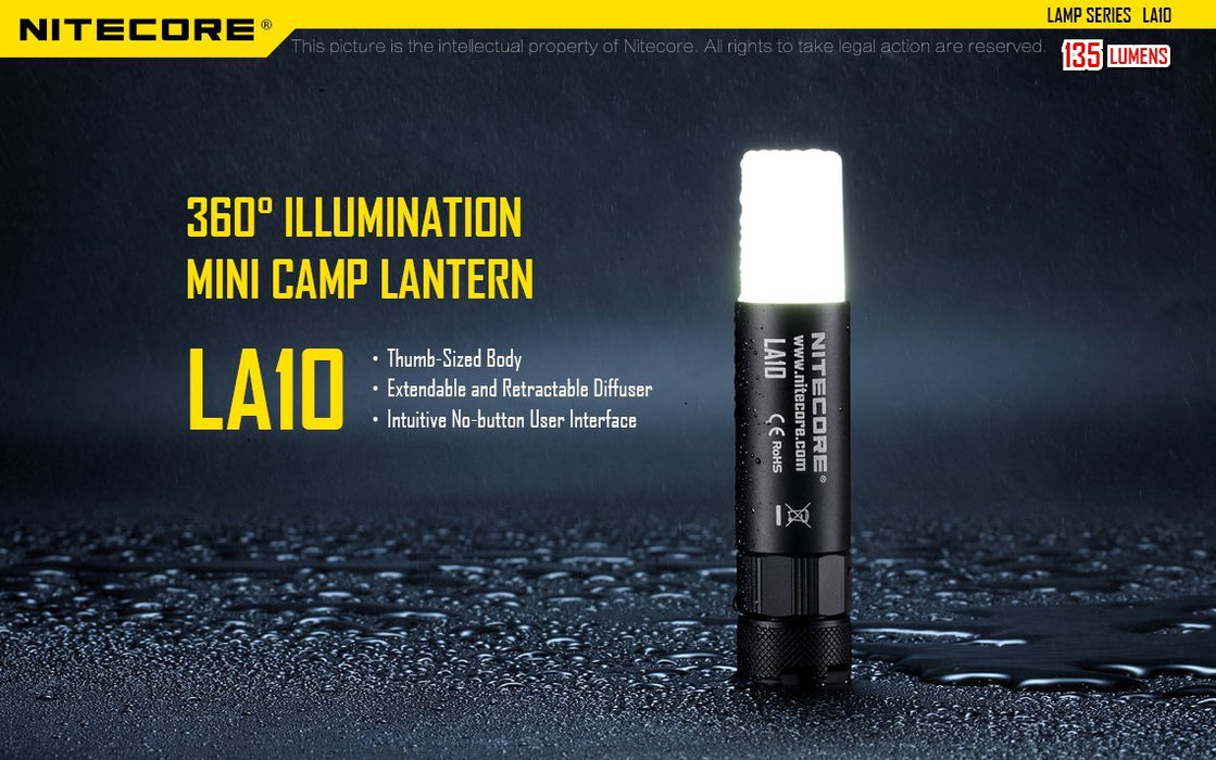 Nitecore LA10 LED Flashlight