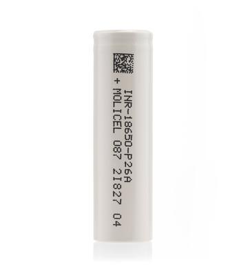 MOLICEL/NPE INR-18650-P26A 35A 2600mAh Flat Top 18650 Battery